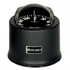 Ritchie SP-5-B GlobeMaster Compass - Pedestal Mount - Black - 5 Degree Card 12V