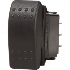 Blue Sea 7933 Contura II Switch SPDT Black - -ON--OFF--ON-