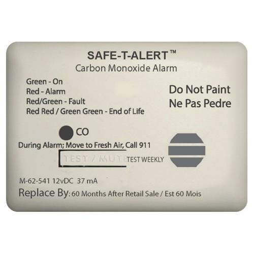 Safe-T-Alert 62 Series Carbon Monoxide Alarm w-Relay - 12V - 62-541-Marine-RLY-NC - Surface Mount - White