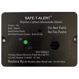 Safe-T-Alert 62 Series Carbon Monoxide Alarm w-Relay - 12V - 62-542-Marine-RLY-NC - Flush Mount - White