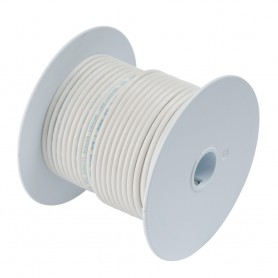 Ancor White 8 AWG Tinned Copper Wire - 100-