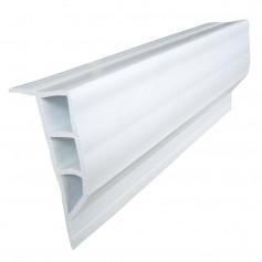 Dock Edge Standard PVC Full Face Profile - 16- Roll - White