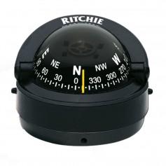 Ritchie S-53 Explorer Compass - Surface Mount - Black