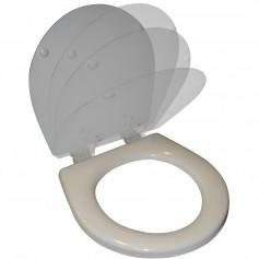 Raritan Slow Close Seat - Cover - White
