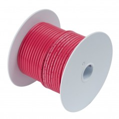 Ancor Red 1-0 AWG Tinned Copper Battery Cable - 50-