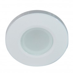 Lumitec Orbit Flush Mount Down Light - Blue Non-Dimming- Red Non-Dimming White Dimming w-White Housing