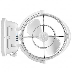Caframo Sirocco II 3-Speed 7- Gimbal Fan - White - 12-24V