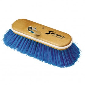 Shurhold 10- Extra-Soft Deck Brush - Blue Nylon Bristles