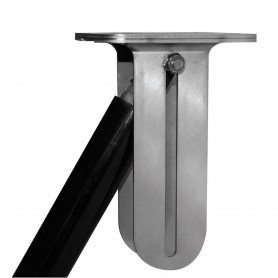 Lenco Stainless Slide Bracket f- Hatch Lifts