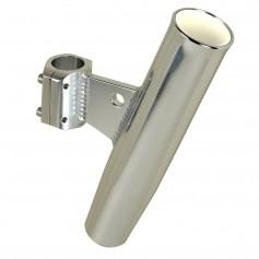 C-E- Smith Aluminum Clamp-On Rod Holder - Vertical - 1-66- OD