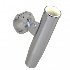 C-E- Smith Aluminum Clamp-On Rod Holder - Horizontal - 2-375- OD