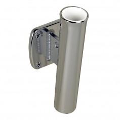 C-E- Smith Single Aluminum 5 Degree Transom Mount Rod Holder