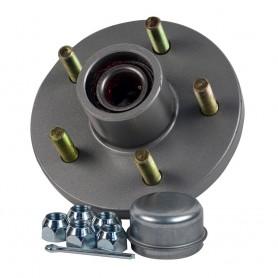 C-E- Smith Trailer Hub Kit - 1-3-8- x 1-1-16- Tapered - 5 x 4-1-2- Galvanized