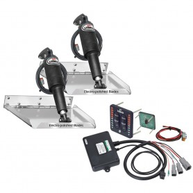 Lenco 12- x 9- Standard Performance Trim Tab Kit w-LED Indicator Switch Kit 12V