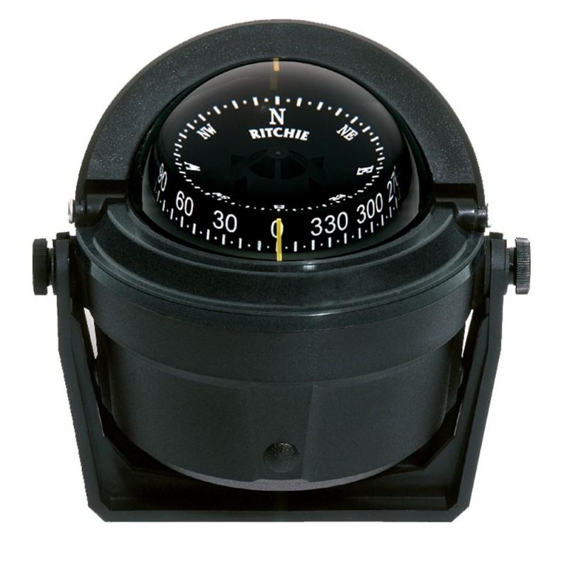 Ritchie B-81 Voyager Compass - Bracket Mount - Black