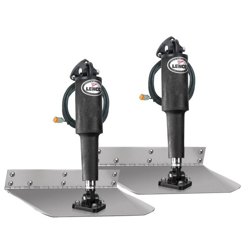 Lenco 9- x 9- Standard Trim Tab Kit without Switch Kit 12V