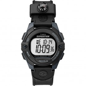 Timex Expedition Chrono-Alarm-Timer Watch - Black