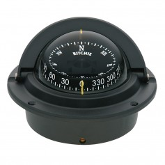 Ritchie F-83 Voyager Compass - Flush Mount - Black