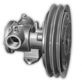 Jabsco 1-1-4- Electric Clutch Pump - Double A Groove Pulley - 12V