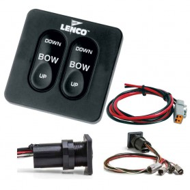 Lenco Standard Integrated Tactile Switch Kit w-Pigtail f-Single Actuator Systems