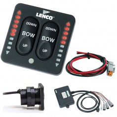 Lenco LED Indicator Two-Piece Tactile Switch Kit w-Pigtail f-Single Actuator Systems