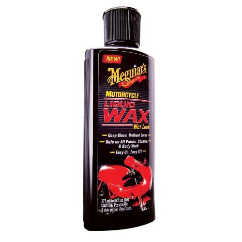 Meguiar-s Motorcycle Liquid Wax - Wet Look