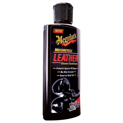 Meguiar-s Motorcycle Vinyl - Leather Cleaner - Conditioner