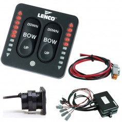 Lenco LED Indicator Two-Piece Tactile Switch Kit w-Pigtail f-Dual Actuator Systems