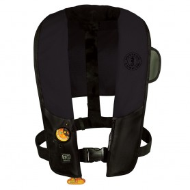 Mustang HIT Automatic Inflatable PFD - Law Enforcement Edition w-Customizable Back Flap - Black