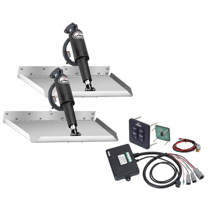 Lenco 12- x 9- Edgemount Kit w-Standard Tactile Switch Kit 12V