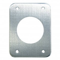 Tigress T-Top Aluminum Backing Plates - 5- x 6-1-2- x 1-4- - Pair