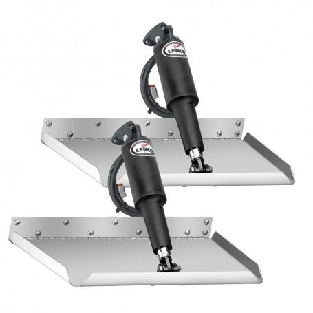 Lenco 12- x 12- Edge Mount Trim Tab Kit w-o Switch Kit 12V