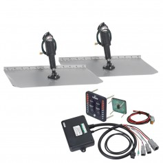 Lenco 12- x 24- Standard Trim Tab Kit w-LED Indicator Switch Kit 12V