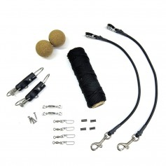 Tigress Elite Rigging Kit - Black Nylon