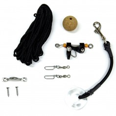 Tigress Center Rigger Kit - Black Nylon