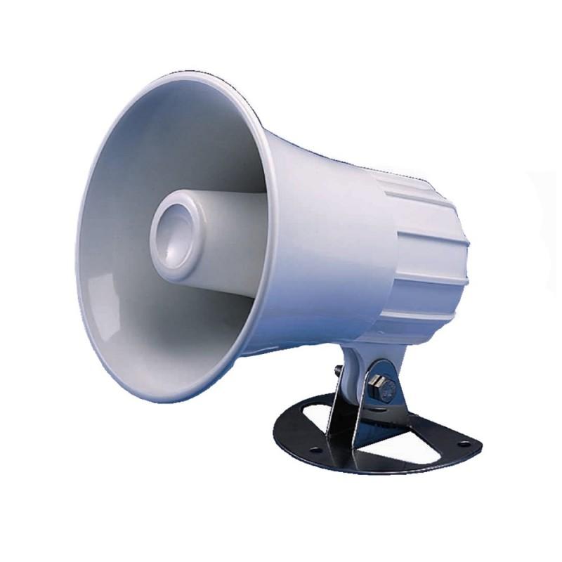 Standard Horizon 4-5- Round Hailer-PA Horn - White