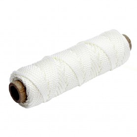 Tigress 100- of 375lb Nylon Braid - White