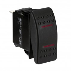 Paneltronics SPDT ON-OFF-ON Waterproof Contura Rocker Switch