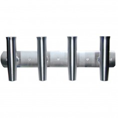Tigress 4 Rod Aluminum Transom Mount Rod Holder - 28-