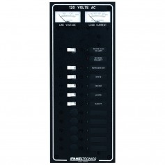 Paneltronics Standard AC 10 Position Breaker Panel - Main w-LED