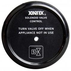 Xintex Propane Control - Solenoid Valve w-Black Bezel Display