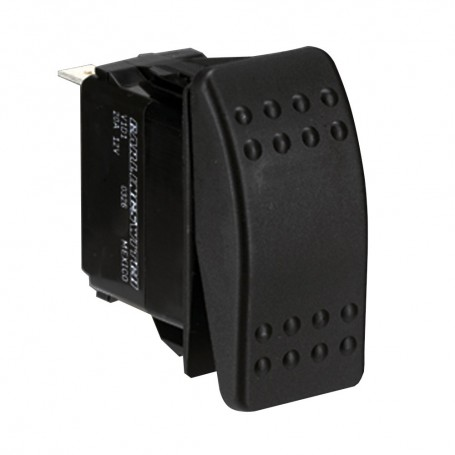 Paneltronics Switch SPST Black On-On Rocker