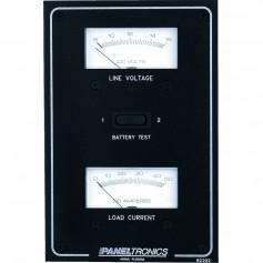 Paneltronics Standard DC Meter Panel w-Voltmeter - Ammeter