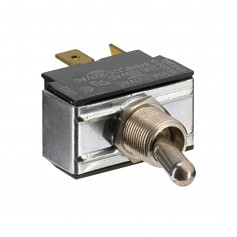 Paneltronics SPDT ON-OFF-ON Metal Bat Toggle Switch