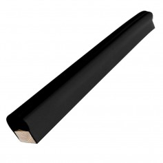 Dock Edge Piling Post Bumper - One End Capped - 6- - Black