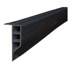 Dock Edge Standard PVC Full Face Profile - 16- Roll - Black