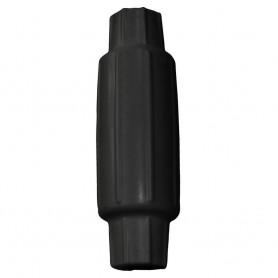 Dock Edge Torpedo Bumper - 18- - Black