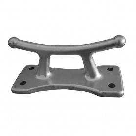Dock Edge Classic Cleat - Aluminum Polished - 6-1-2-