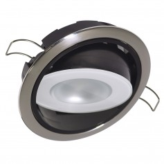 Lumitec Mirage Positionable Down Light - White Dimming- Red-Blue Non-Dimming - Polished Bezel