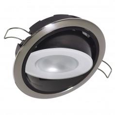 Lumitec Mirage Positionable Down Light - Warm White Dimming - Hi CRI - Polished Bezel